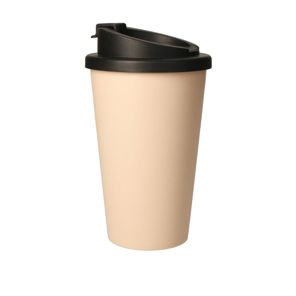 Bioplastic Spill Proof Takeaway Cup Apricot Pink