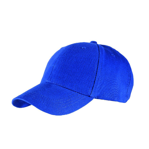 Baseball Caps Heavy Brushed Cotton - Blue