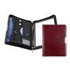 Bespoke Leather Zip Folder A4 - Burgundy
