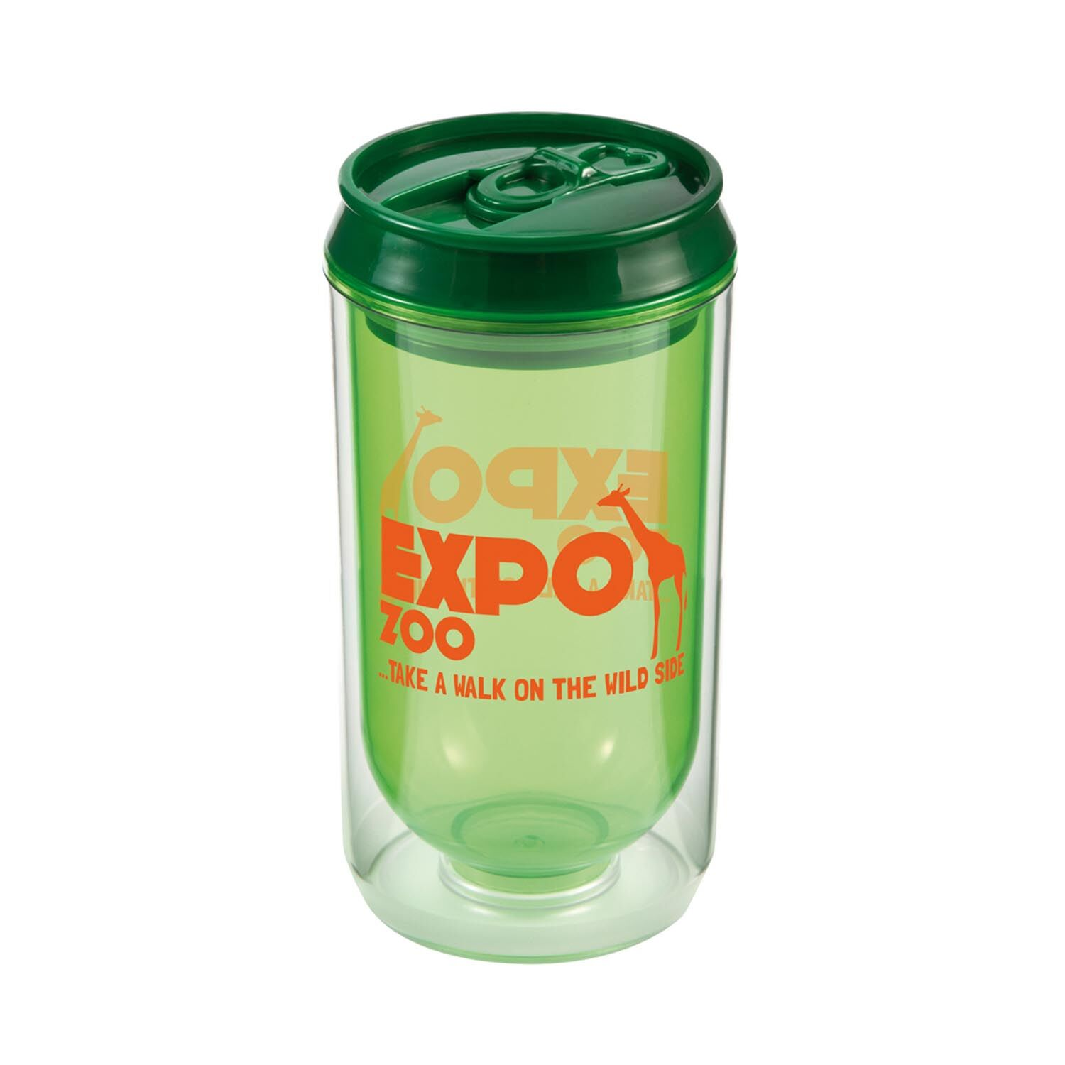 Promotional Can Cup - Green