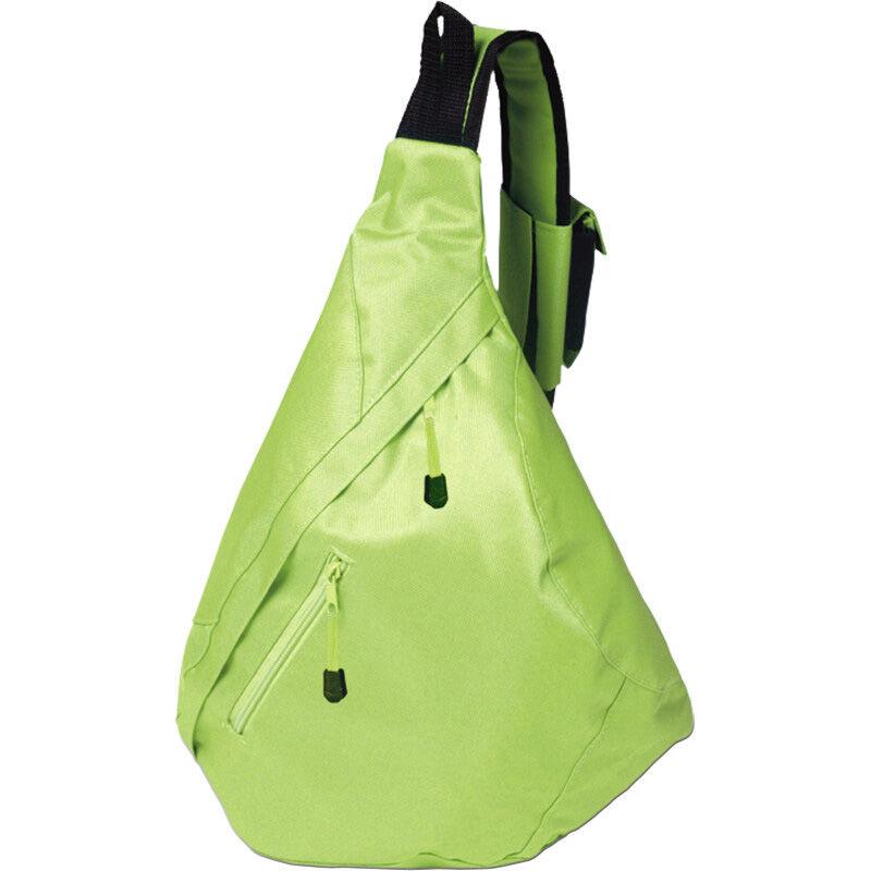 Triangular City Backpack - Green