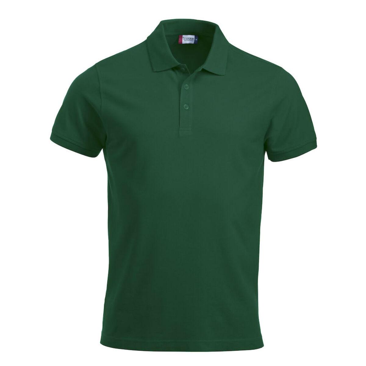 Unisex Clique Classic Polo Shirt (Men's Bottle Green )