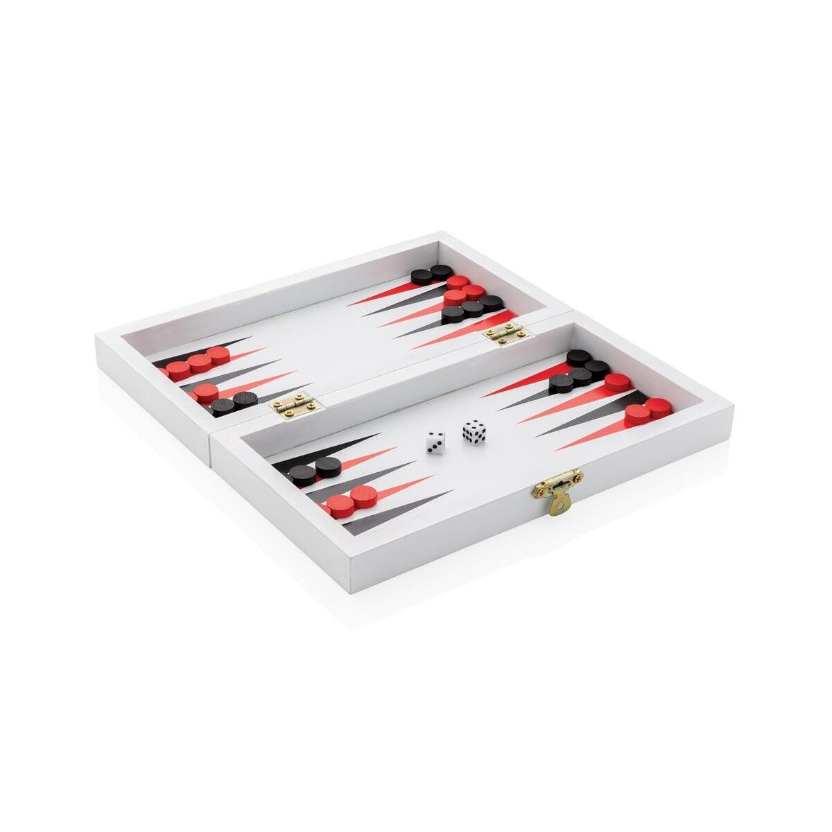 Wooden 3-in-1 Game Box