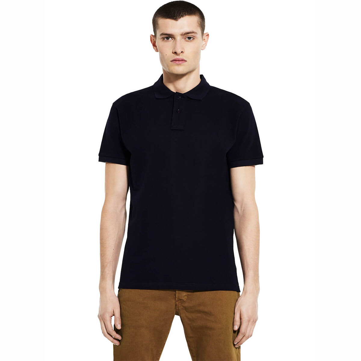 Earth Positive Organic Cotton Polo Shirts Navy
