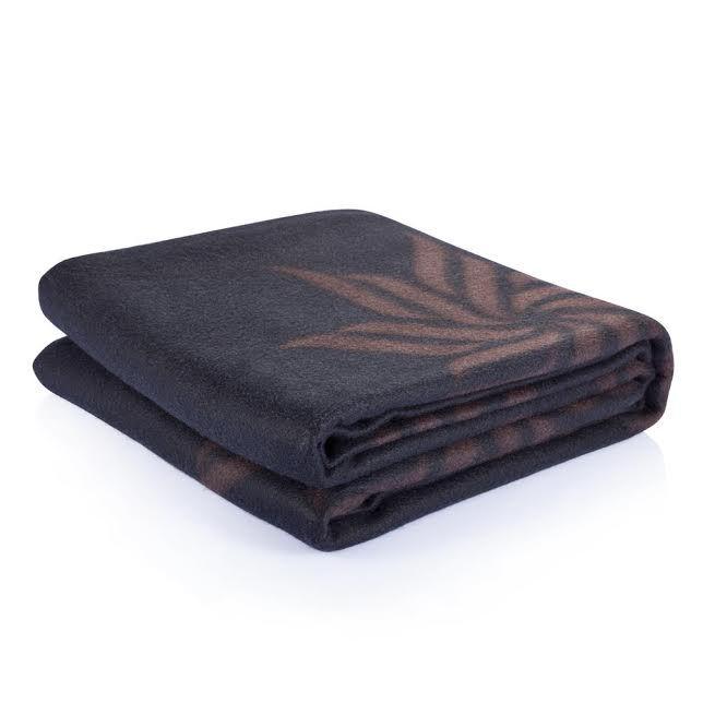 Fleece Blanket in Luxury Gift Box - Black