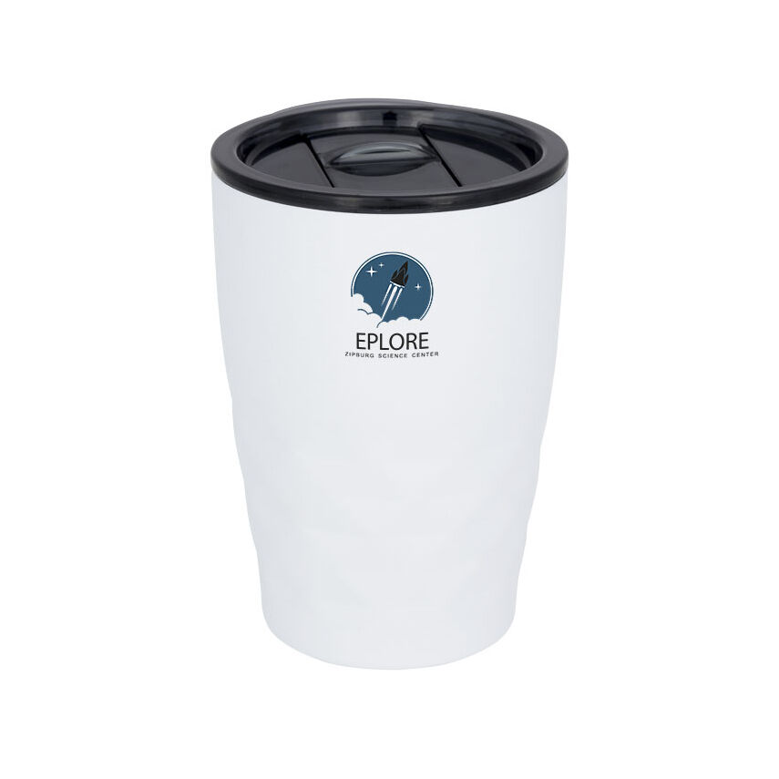 Geo thermal insulated tumbler, white