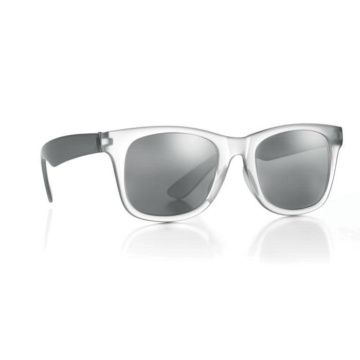 Grey mirror lens sunglasses