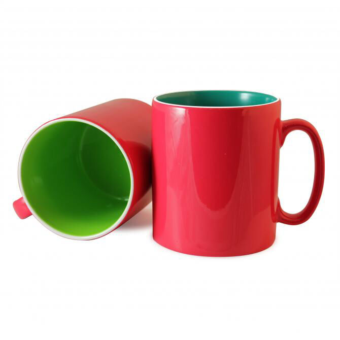 Durham Mug with Inner & Outer Colour