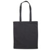 Colour Cotton Shopper Bags to Brand - Black