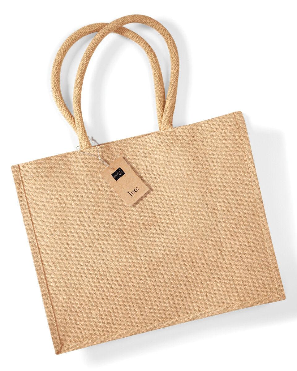 Printed Jute Bags Short Handles