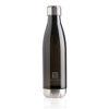 Leakproof water bottle with stainless steel lid (sample branding)