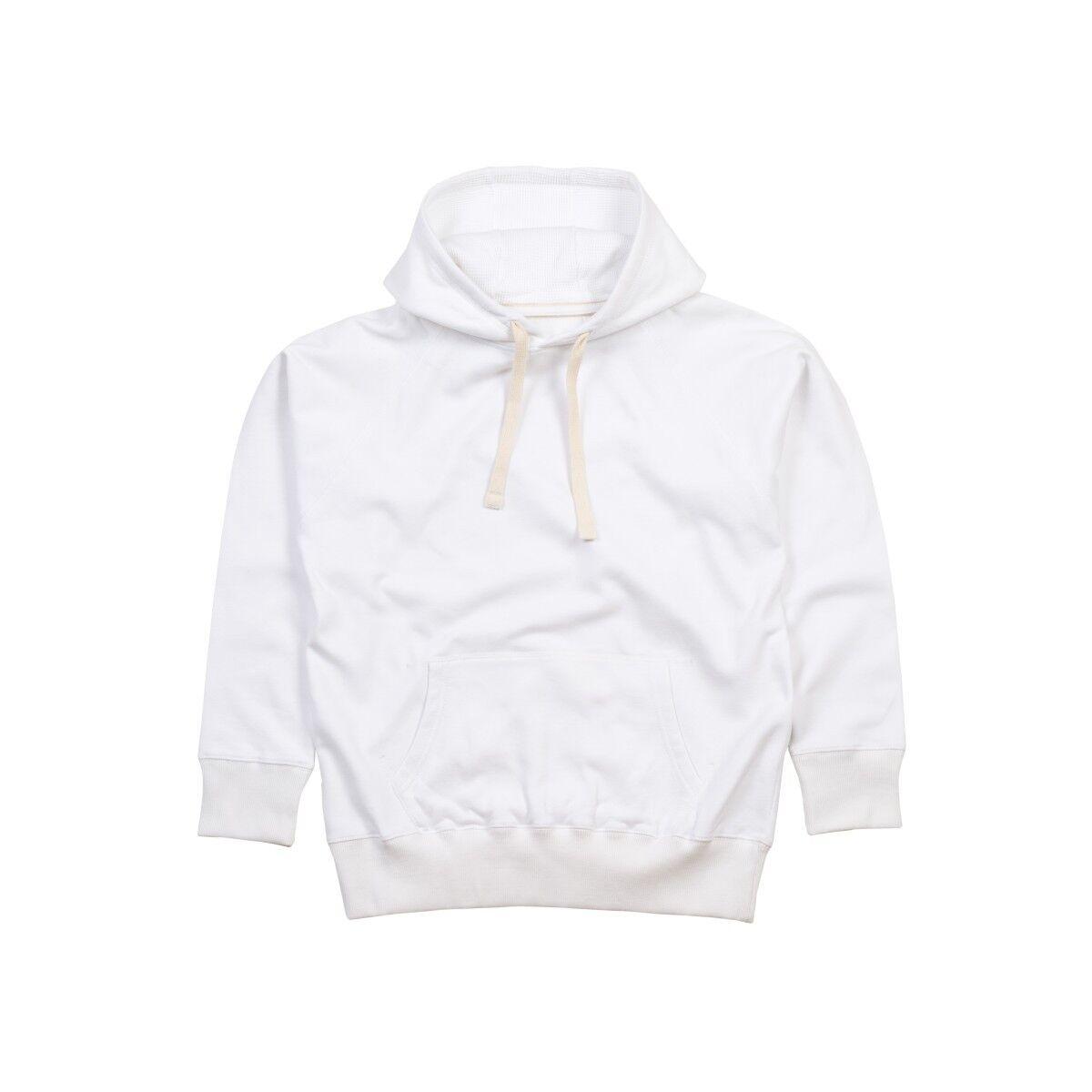 Mantis Mens Superstar Hoodie - Pure White