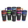Travel Mug Matt Black Steel Colours