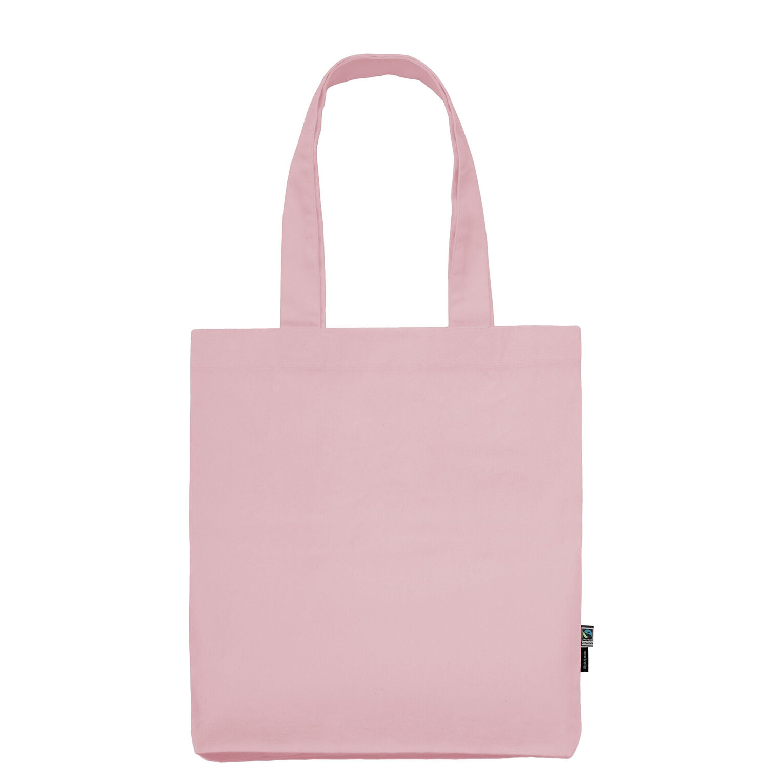 Neutral Brand Organic Twill Tote Bag in pink