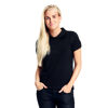 Neutral Organic Black  Ladies  Polo shirt