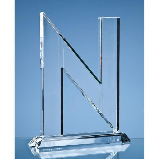 Optical Crystal Letter 'N' Award