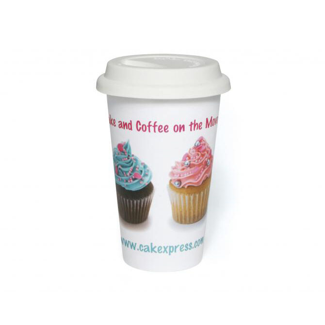 Photo Printed Coffee Takeout Mugs