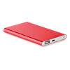 Sleek Aluminium Powerbanks - Red