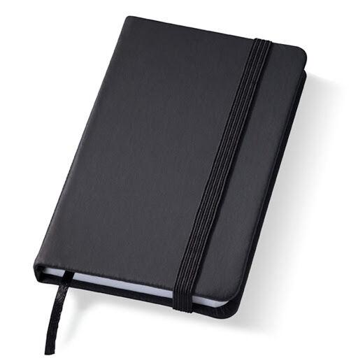 Printed Rainbow Notebooks Black