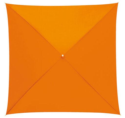 Quatro Square Umbrella Orange