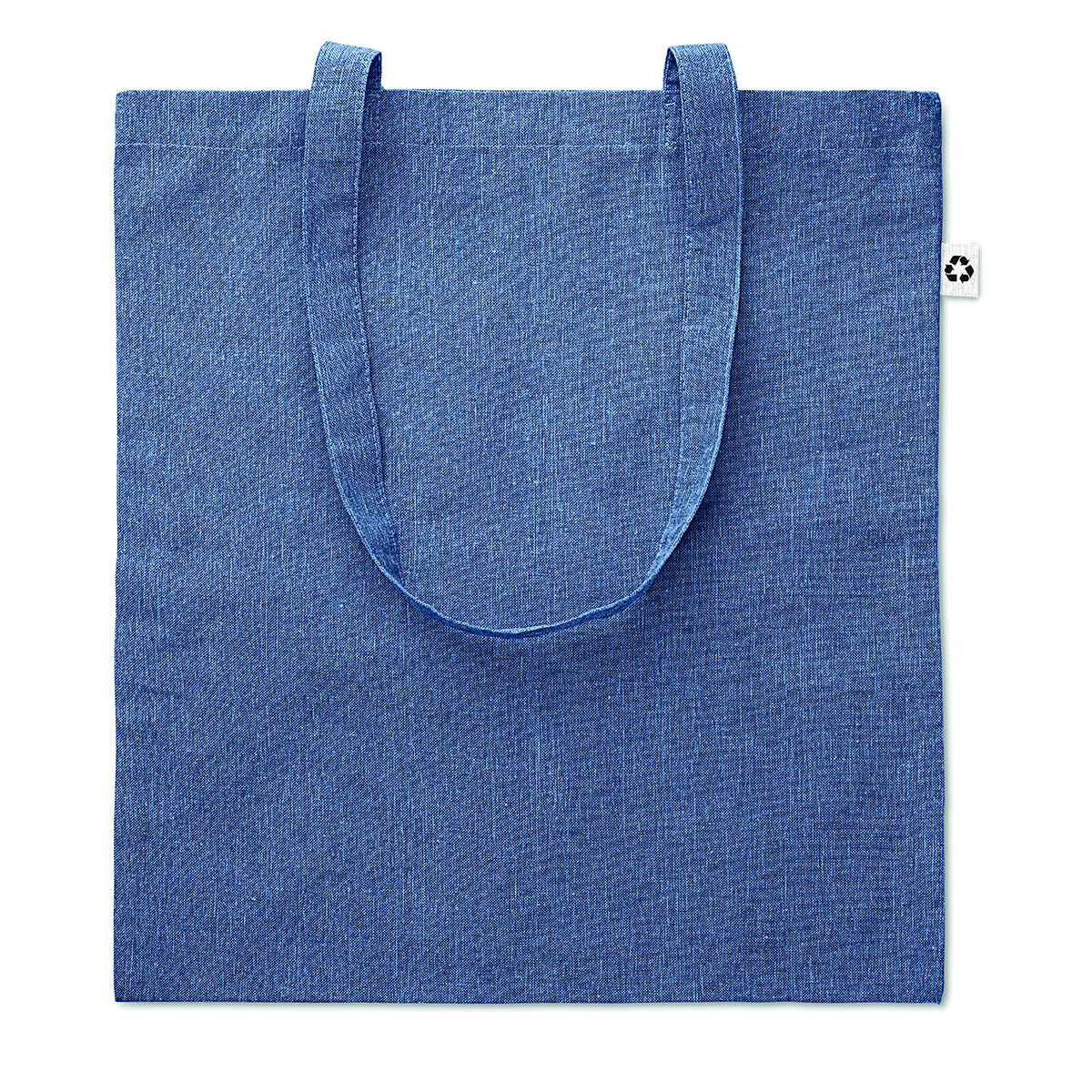 Recycled Cotton Tote Bag Denim Blue