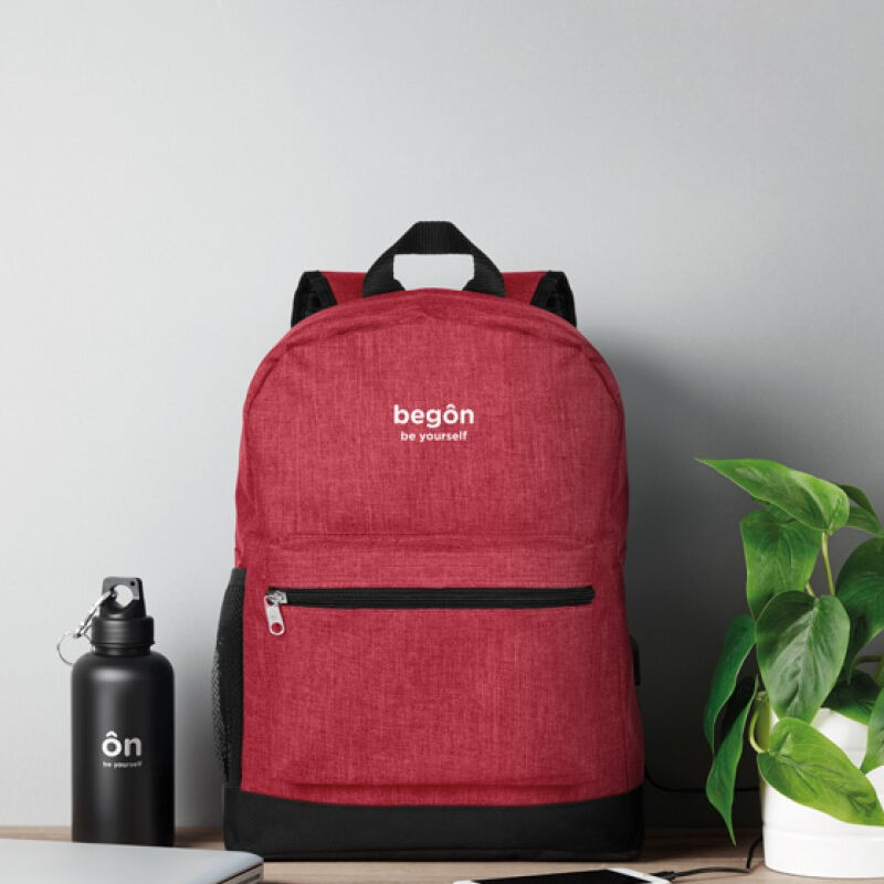 RFID Backpack in Red