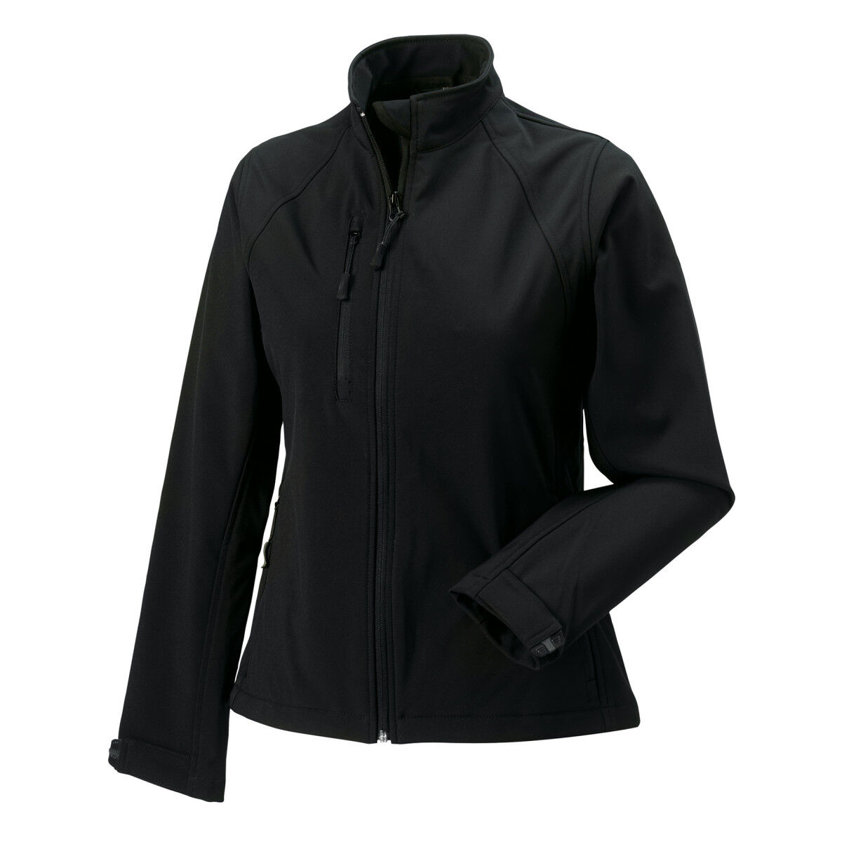 Russell Ladies' Soft Shell Jacket Black