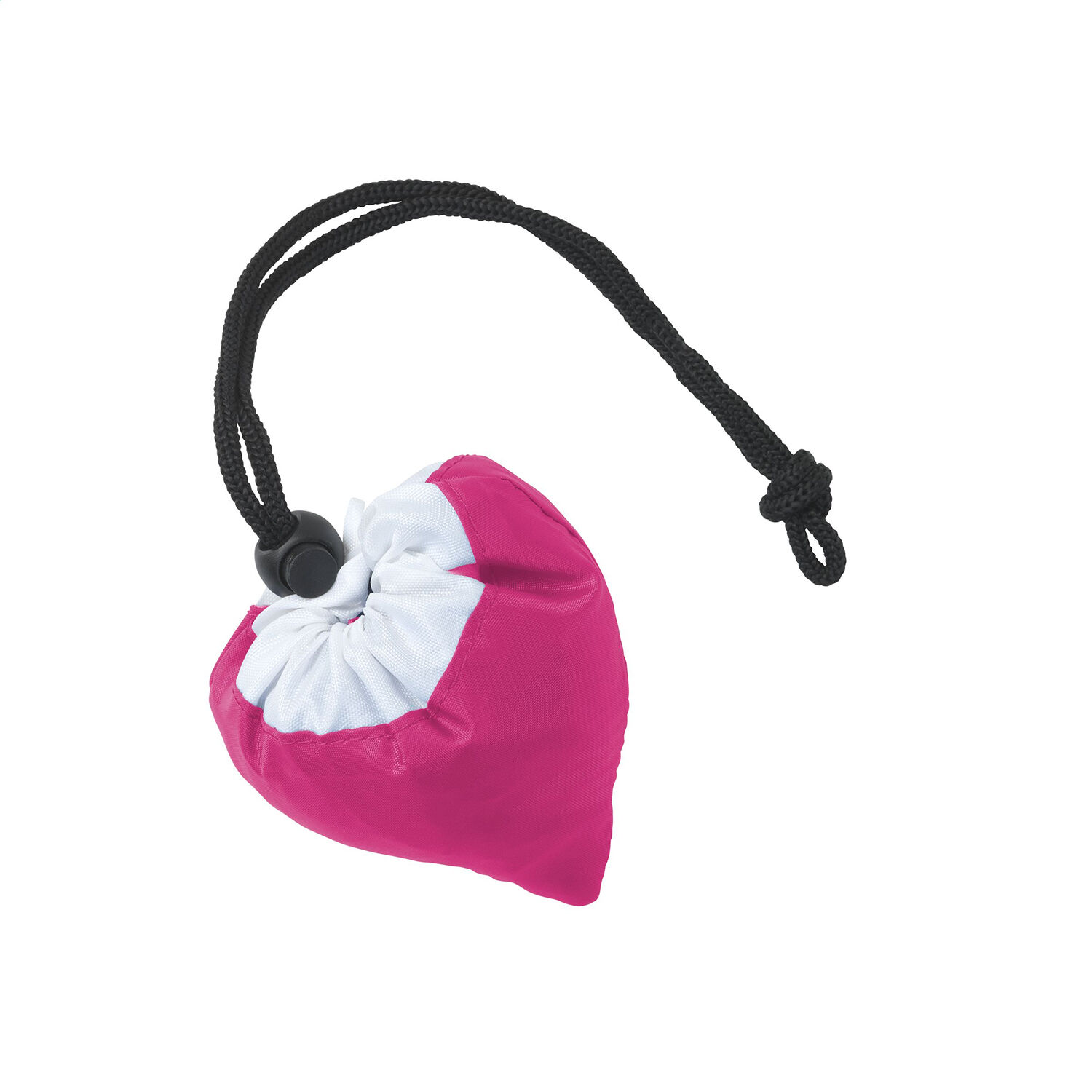 Strawberry Shaped Foldable Shoping Bag in Dark Pink