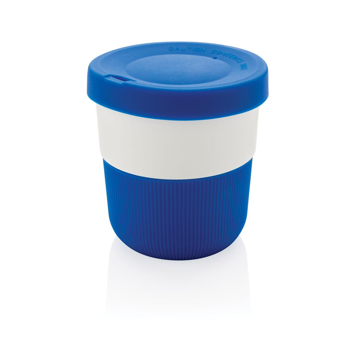 Sustainable PLA Coffee Cup Blue
