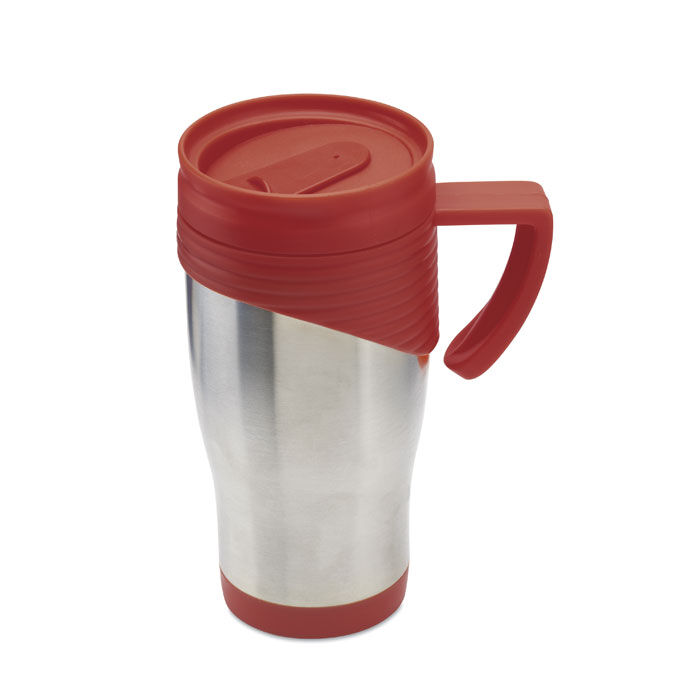 Large Thermal Coffee Mugs With Lids Blue