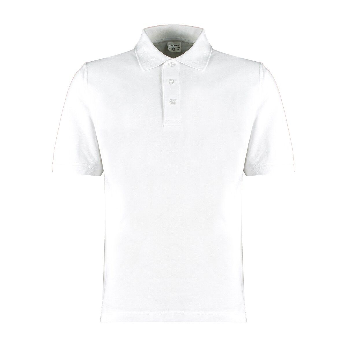 Kutom Kit Cotton Klassic Polo Shirt White